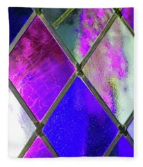 Diamond Pane  Fleece Blanket