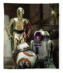 Star Wars Episode Vii - The Force Awakens 2015 Fleece Blanket