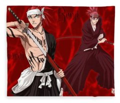 Bleach Fleece Blanket