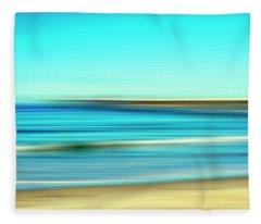 A Beach A Pier Fleece Blanket