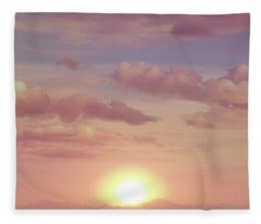 A Beautiful Morning Fleece Blanket