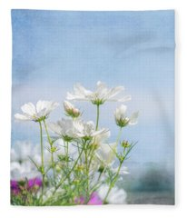 A Beautiful Summer Day Fleece Blanket