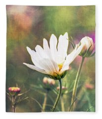 A Bouquet Of Flowers Fleece Blanket