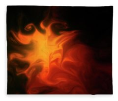 A Burning Passion Fleece Blanket