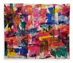 A Busy Life Fleece Blanket