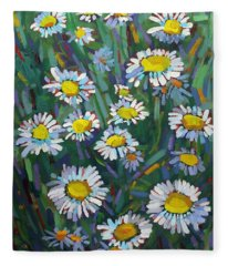 A Daisy A Day Fleece Blanket