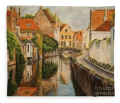 French Painter Fleece Blankets