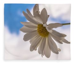 A Different Daisy Fleece Blanket