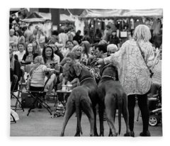 A Dogs Life Fleece Blanket
