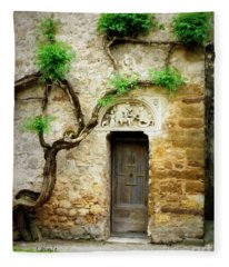 A Door In The Cloister Fleece Blanket