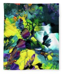 A Fairy Wonderland Fleece Blanket