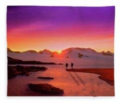 A Far-off Place Fleece Blanket