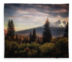 A Favorite View Fleece Blanket
