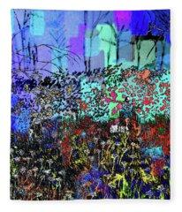 A Field Of Flowers Fleece Blanket
