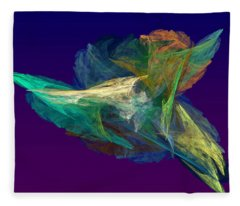 A Fleeting Moment Fleece Blanket