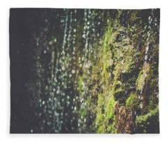 A Flowing Rock Fleece Blanket