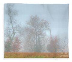A Foggy Morning Fleece Blanket