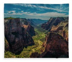 A Forever View Fleece Blanket