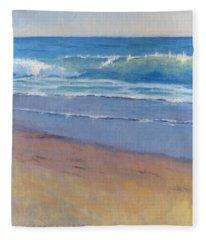 Gentle Wave / Crystal Cove Fleece Blanket