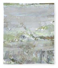A Glass Half Full Fleece Blanket