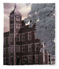 A Glimpse Of Charlton House, London Fleece Blanket