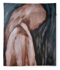 A Heavy Thought Fleece Blanket