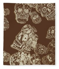 A Holiday Inversion  Fleece Blanket