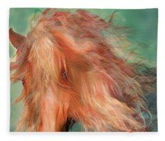 A Horse Called Copper Fleece Blanket