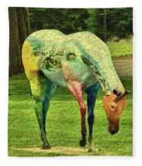 A Horse Is A Horse Fleece Blanket