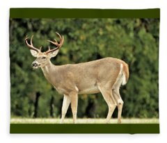 A Hunter's Delight Fleece Blanket