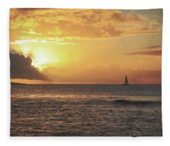A Journey's End Fleece Blanket