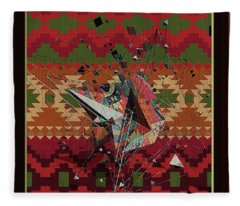 A La Kandinsky C1922 Fleece Blanket