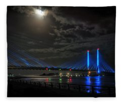 A Light From Above Fleece Blanket
