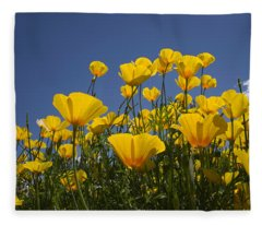 A Little Sunshine  Fleece Blanket