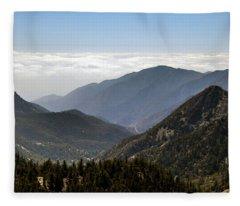 A Lofty View Fleece Blanket