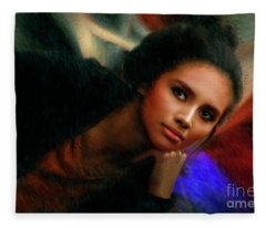 A Lovely Wait Fleece Blanket