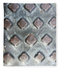 A Metal Sheet Fleece Blanket
