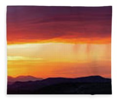 Fleece Blanket featuring the photograph  A Moment In Time by Rick Furmanek