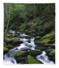 A Moment Of Solitude Fleece Blanket