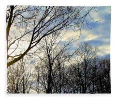 A Morning Sun Fleece Blanket
