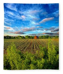 A Perfect Beginning Fleece Blanket