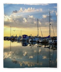 A Place To Reflect IIi Fleece Blanket