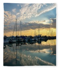 A Place To Reflect Fleece Blanket