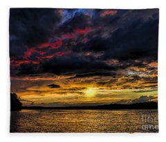 A Place To Relax Fleece Blanket