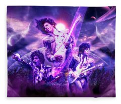 A Prince For The Heavens  Fleece Blanket