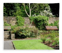 A Quiet Corner To Contemplate  In Colne Fleece Blanket