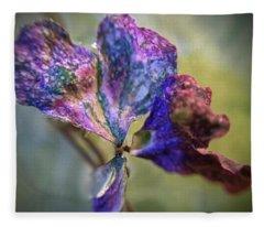 A Real 4 Leaf Clover Fleece Blanket