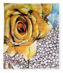 A Rose By Any Other Name Fleece Blanket