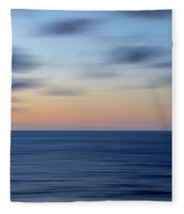A Sea Of Calm Fleece Blanket