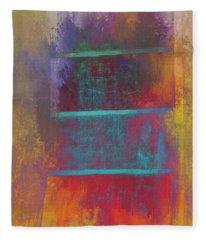 A Splash Of Color Fleece Blanket